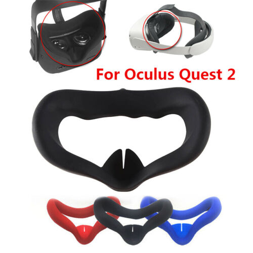 Silicone Eye Mask Cover Case for Oculus Quest 2 VR Headset Face Cushion Pad US Consumer Electronics