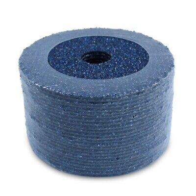 50 Pack - 4.5 Zirconia Resin Fiber Disc 36 Grit 4-12 Grinding Sanding Discs
