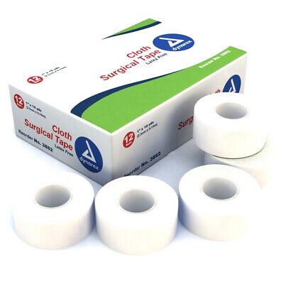 * BEST DEAL * YOU PICK * Dynarex Cloth Surgical Tape Roll 1