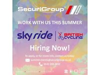 Sky Ride & Tour of Britain Cycling Event | Security & Stewarding