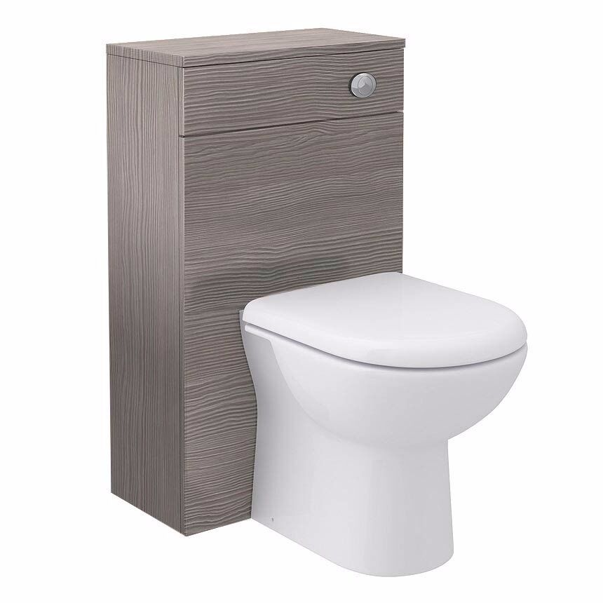 Brooklyn WC Unit with CisternGrey Avola500mmin Nechells, West MidlandsGumtree - Brooklyn WC Unit Grey Brown Avola 500mm The Brooklyn modular furniture range . This high quality Grey Avola textured wood effect WC unit is is a modern style which will be perfect for any bathroom. The WC unit has a removable front panel which can be...