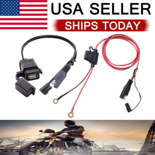 Waterproof SAE to USB Charger / Adapter for Motorcycle Cable Phone GPS Tablets eBay Motors