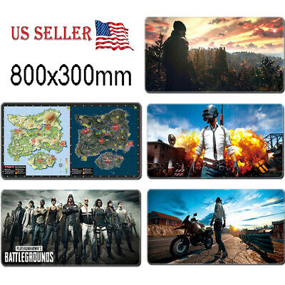 PUBG Extended Gaming Mouse Pad Extra  Wide Large Size Desk Keyboard Mat 80*30CM ()