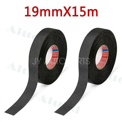 2roll Cloth Tape Wire Electrical Wiring Harness Car Auto Suv Truck 19mm15m