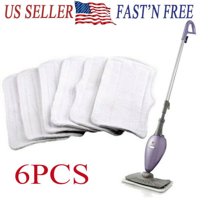 6 PCS Microfiber Replacement Pads For Shark Steam Mop S3251 S3202 XT3010