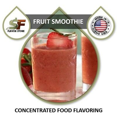 Fruit Smoothie - Food Flavoring Concentrate - 1oz - (Fruit Smoothie Concentrate)