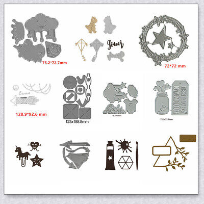 Cloud Kite Toy Mixed Cutting Dies Stencil Handcrafts Paper Card DIY - Cloud Paper