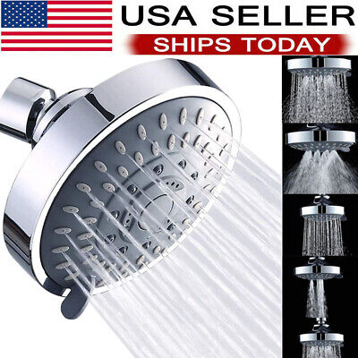 Shower heads Handheld Spray High Pressure Adjustable Showerhead Top Spray Bath