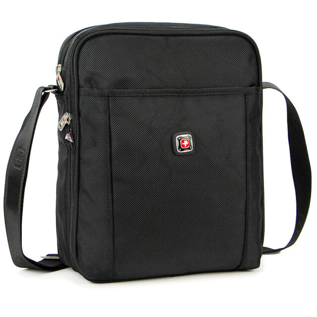 Dakar Men Black Durable Travel Work Shoulder Messenger Bag ...