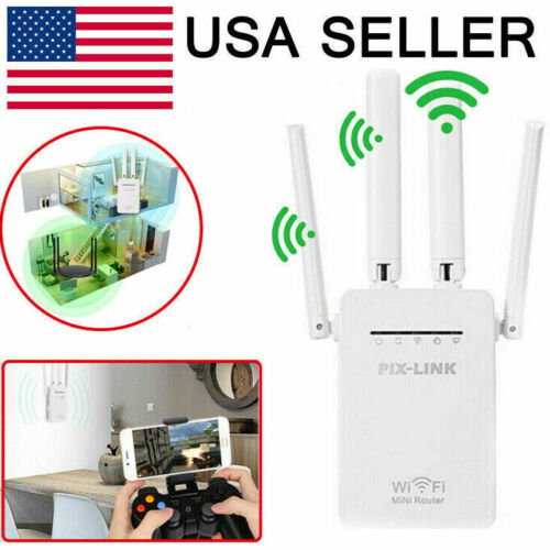 1200Mbps WiFi Range Extender Repeater Wireless Amplifier Rou