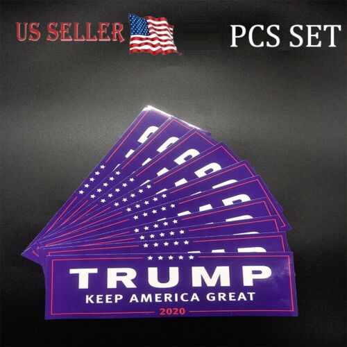 5pcs Trump 2020 President Campaign Keep America Great MAGA Decal Bumper Stickers