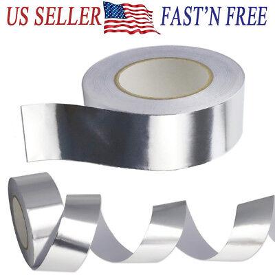 65 Ft X 2 Aluminum Foil Heat Shield Tape Hvac Heating Ac Sealing Adhesive