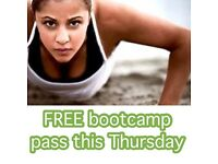 Boot camp class - first visit for free