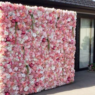Sydney Flower Wall Hire - Range of Flower Walls Granville Parramatta Area Preview