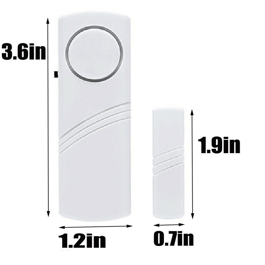 4 Home Safety Burglar Alarm Wireless System Security Device Door Window  Sensor Consumer Electronics