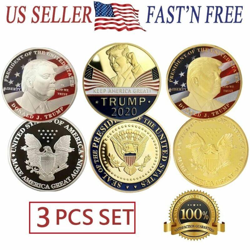 Donald Trump 2020 Challenge Coin Keep America Great President Commemorative USA