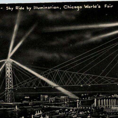 Century Of Progress Postcard 1933-34 Bird