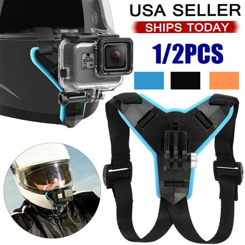 Motorcycle Helmet Front Chin Mount Holder Bracket For GoPro Hero 9 8 7 6 5Camera