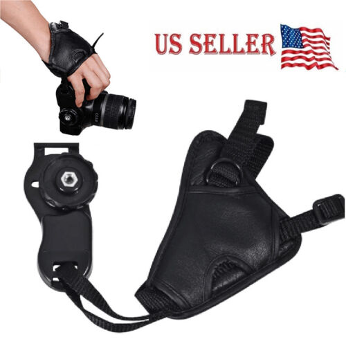 Cameras Leather Hand Grip Wrist Strap for Canon Nikon Sony O