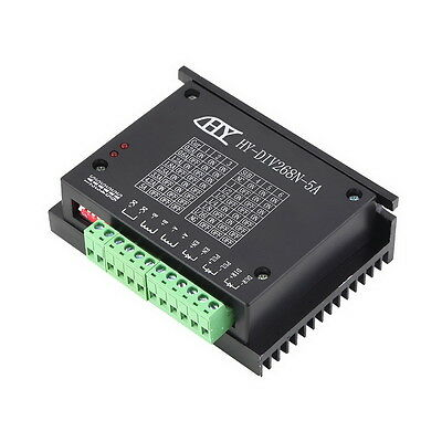CNC Single Axis TB6600 0.2-5A Two Phase Hybrid Stepper Motor Driver Controlle @*
