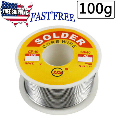 6040 1mm 3.5oz Tin Lead Rosin Core Flux Solder Wire For Electrical Solderding