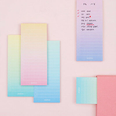 Gradation It Sticky Memo Note Pad 4 Lot Post-it Study Office Supply Index Mark