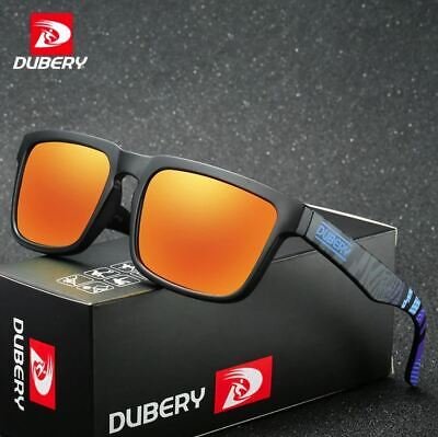 Dubery Polarized Sunglasses Men Sports Running Fishing Golfing Driving Glasses