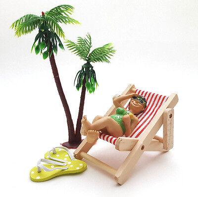 Bade Urlauber Deko Flipflops Geldgeschenk Urlaub Strand (Urlaub Dekoration)