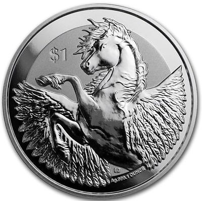 Proof British Virgin Islands (2018 British Virgin Islands 1 oz Silver Pegasus Reverse Proof Coin -)