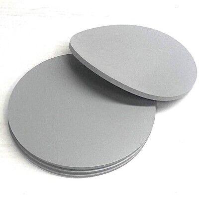 Silicone Rubber Sheet Solid 14 Thk X 6 Diam Disc -us Mil-spec Gray 60 Duro