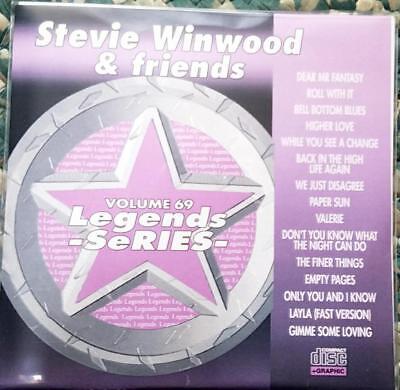 Legends Karaoke Cdg Steve Winwood   Friends Oldies Pop   69 15 Songs Cd G