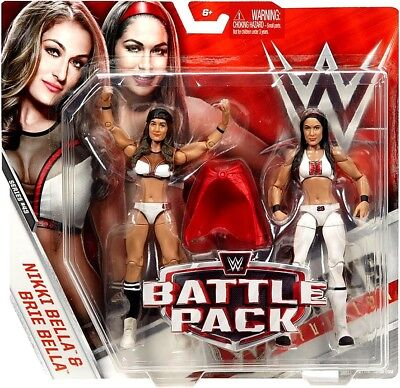 Series 43 Nikki & Brie (Bella Twins) Action Figure 2-Pack [White Outfits] ()