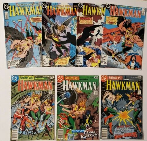 Hawkman LOT of 7 (From 1978 and 1986)