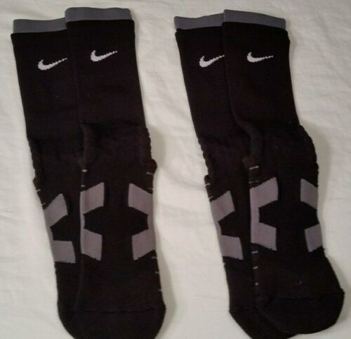 Nike Vapor Dri-Fit Compression Socks  LG - 2 pair