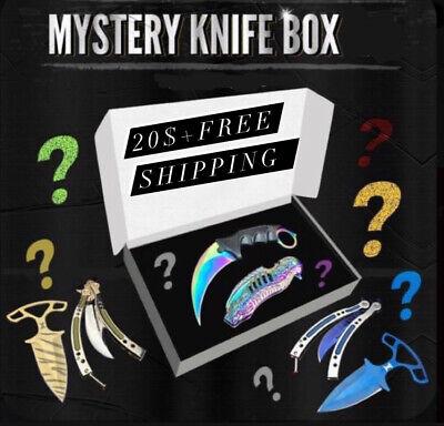 Mystery Knife Box