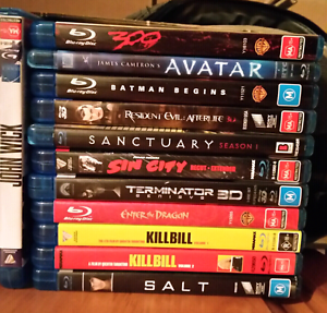 Bluray Movies and Series as new Nuriootpa Barossa Area Preview