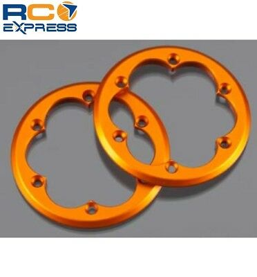 (Axial Racing 2.2 Competition Beadlock Ring Orange (2) AX08132)