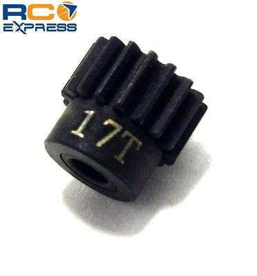 Hot Racing 17t 48p Hardened Steel Pinion Gear 1/8 Bore CSG1817 17t Steel Pinion Gear