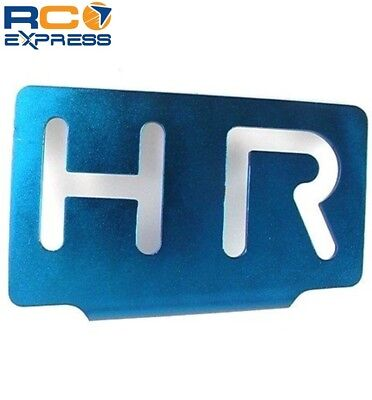 Hot Racing Traxxas Revo Aluminum Fuel Tank Guard RVO8906 Blue Aluminum Fuel Tank Guard