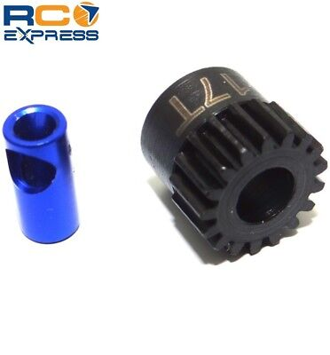 Hot Racing 17t Steel Mod 0.6 Pinion Gear 5mm NSG17M06 17t Steel Pinion Gear