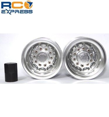 Tamiya 1/14 Tractor Truck Aluminum Rear Wheels TTR112R08 for sale  Shipping to India