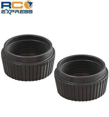 Arrma Shock Cap Lower Aluminum Black 6S (2) AR330513