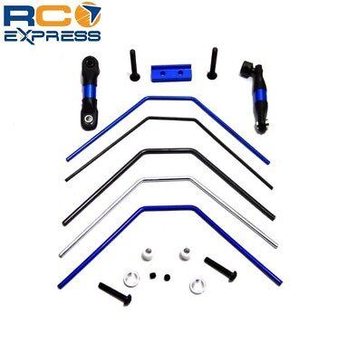 Hot Racing Associated SC10 4x4 Aluminum Front Rear Anti Roll Sway Bar SCF311