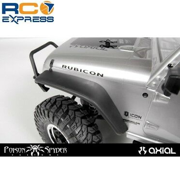 Axial Racing Front Fender Flares SCX10 Poison Spyder JK Crusher AX80121