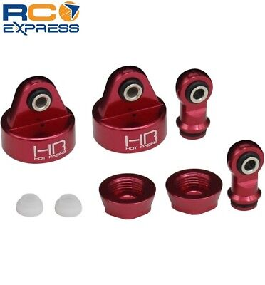 Hot Racing Traxxas UDR Aluminum Shock Damper Caps And Rod Ends TUDR156CA02