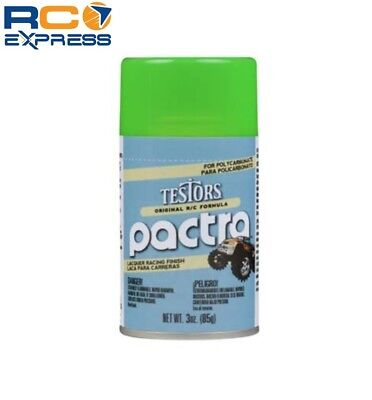 Pactra (Testors) RC Lacquer Spray Paint Fluorescent Green 3oz (Fluorescent Green Spray Paint)