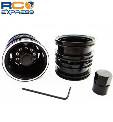 Used, Tamiya 1/14 Tractor Truck Aluminum Rear Wheels TTR113R01 for sale  Shipping to India
