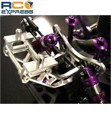 Hot Racing HPI Hellfire Silver Aluminum Wing Mount HF40M08