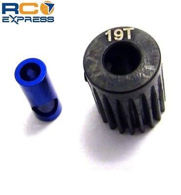 Hot Racing 19t Steel 48p Pinion Gear 5mm or 1/8 - 19t Steel Pinion Gear