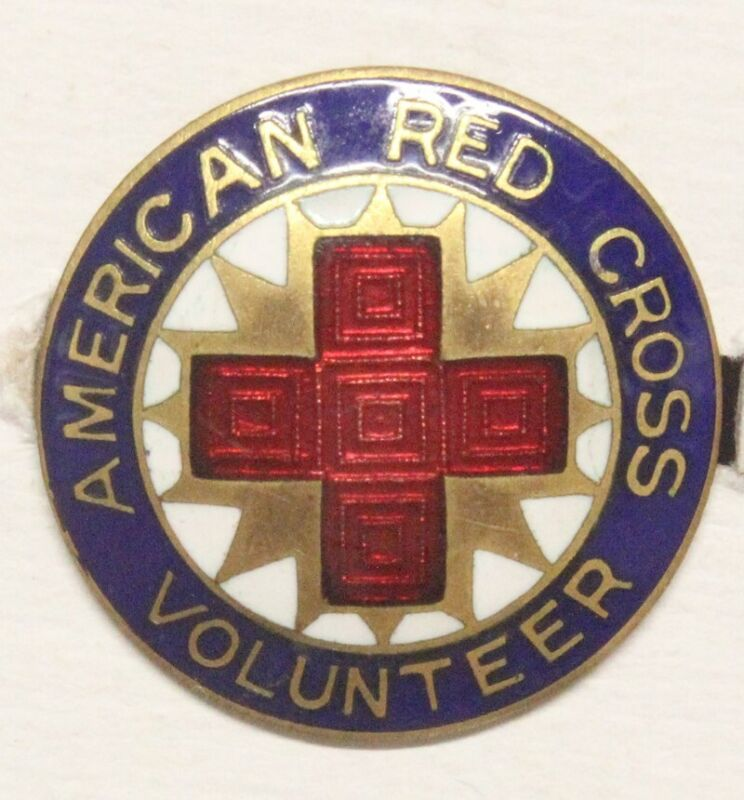 Red Cross - WWII era Production Pin
